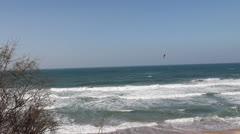 KIte surfing - stock footage