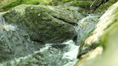 Peaceful rushing water Stock Footage