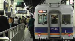 Nankai Namba Station Osaka Japan 5 Stock Footage