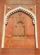 india wall decorate - stock photo