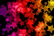 Abstract background with colorful star Stock Illustration