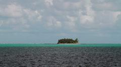 165 Paradise desert island, Siargao island, Philippines. Stock Footage