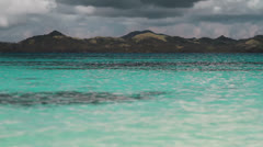 169  Crystal clear sea water. Philippines. Stock Footage