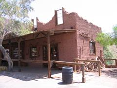 Calico's cartwright in Ghosttown Calico in USA Stock Photos