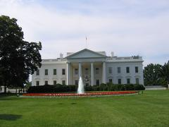 White House in Washington DC in America Stock Photos