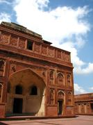 India: agra red fort, unesco world heritage site. Stock Photos