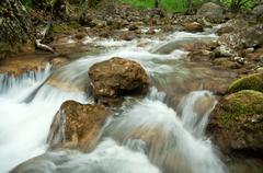 Stock Photo of mountain stream