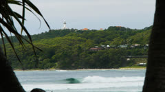 Byron bay Stock Footage