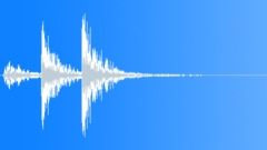 Cookie Tin Box - Metallic Hit, Impact - Tinny - 3x in a row Sound Effect