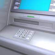 ATM machine Stock Illustration