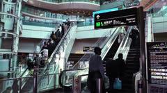 Tokyo Haneda Airport 4 Stock Footage