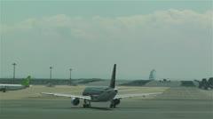 Tokyo Haneda Airport 15 Stock Footage