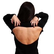 Stock Photo of naked female back