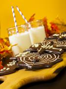 halloween snack - stock photo