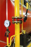 Manometer pressure Stock Photos