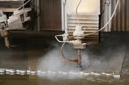 Water laser cutter Stock Photos
