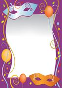 Party carnival background Stock Illustration