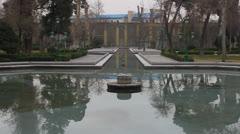 Golestan palace Stock Footage