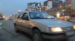 Road Traffic - stock footage