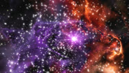 Stock Video Footage of Space stars nebula