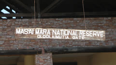 Masai Mara National Reserve Stock Footage