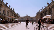 Stock Video Footage of Place Stanislas - Nancy France