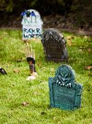 halloween decorations - stock photo