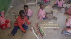 African children playing Stock Footage