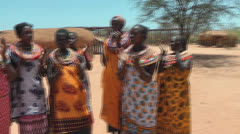 African dance - stock footage