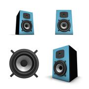Speaker Stock Illustration