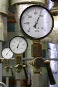 manometer pressure - stock photo