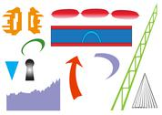 Stock Illustration of Icon Set