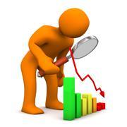Drop checking Stock Illustration