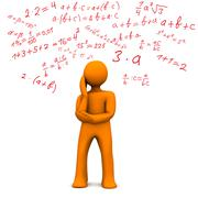 math - stock illustration