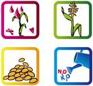 Stock Illustration of Agricultural Symbols