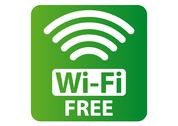 Stock Illustration of Free Wi-Fi sign