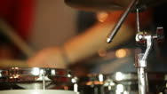 Percussion instruments Stock Footage