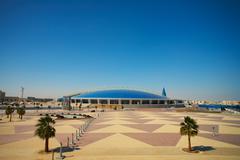 Khalifa sports stadium Stock Photos