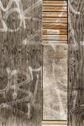 Distressed and weathered wood Stock Photos