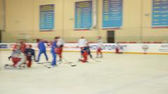 Ice Hockey Stock Footage