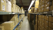 Stock Video Footage of warehouse