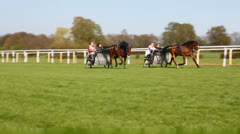 Trotting Race Stock Footage