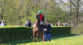 Bringing Racing Horse and Jockey to the Race Course HD Footage