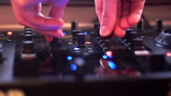 Stock Video Footage of Dj equipment