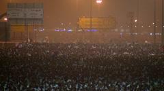 Stock Footage Pilgrims at hajj - stock footage