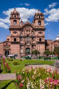 Cathedral in Cusco Stock Photos