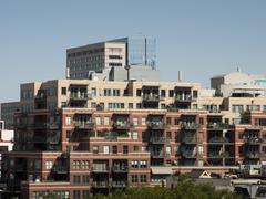 Condominium building Stock Photos