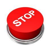 stopp button - stock illustration