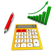 calculation - stock illustration