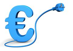 euro connector - stock illustration